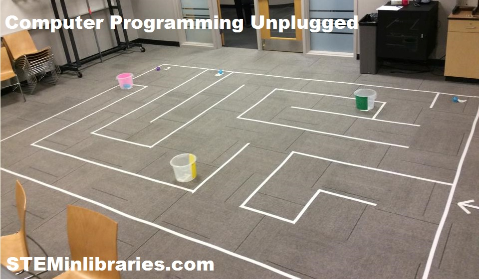 Week Two Computer Programming Unplugged Stem In Libraries