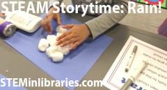 STEAM Storytime: Rain!